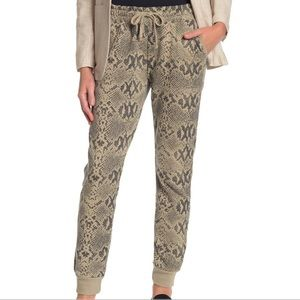 New Cotton On Snake Print Joggers